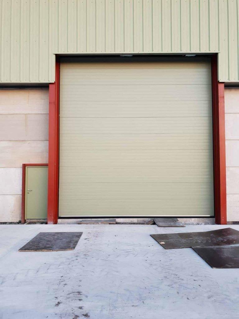 Industrial Overhead Sectional Doors