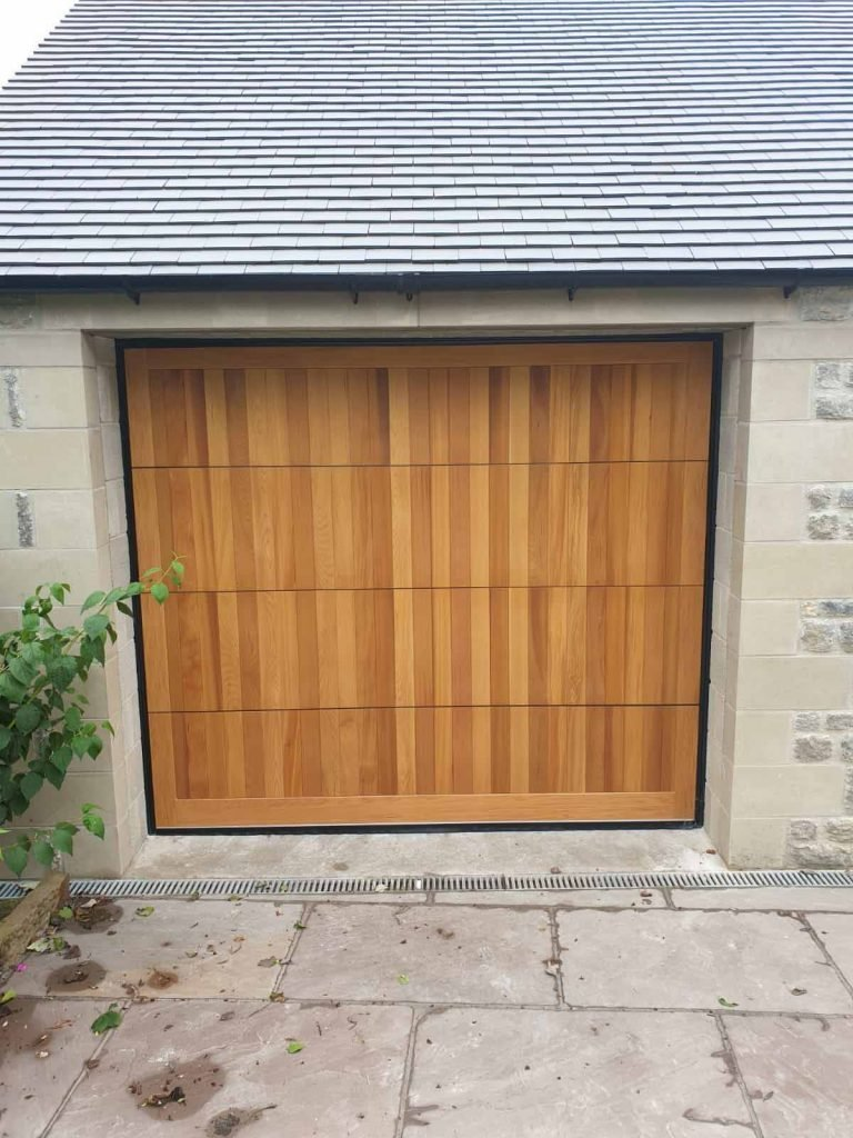 Insulated Sectional Garage Doors - After
