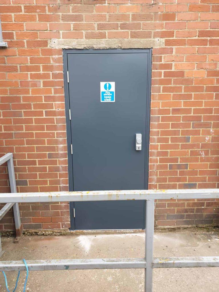 Steel Security Doorsets - After
