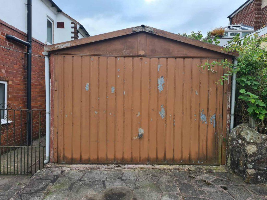 Up & Over Garage Doors - Before