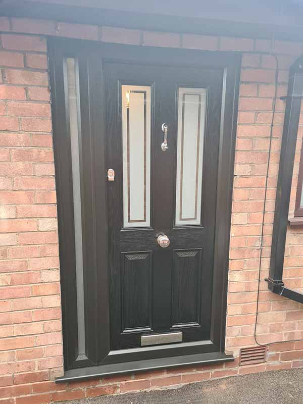 Front doors (composite and upvc) - After