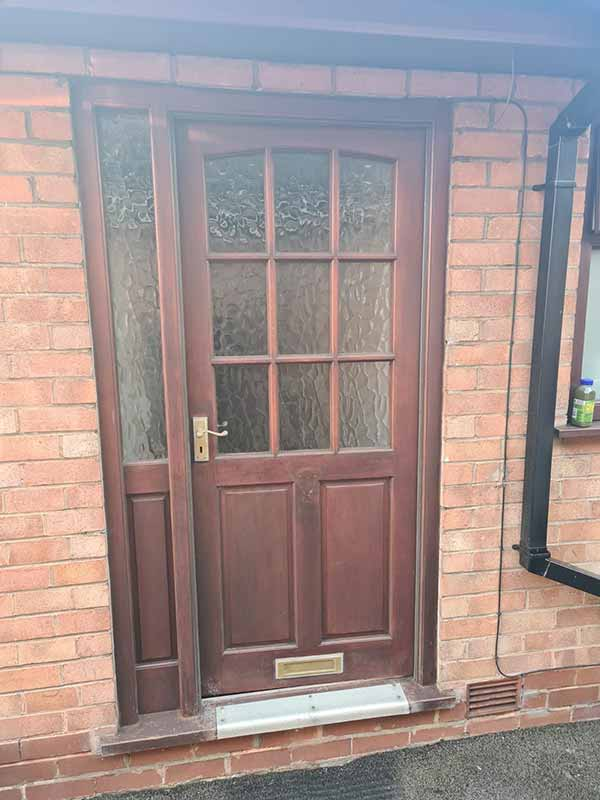 Front doors (composite and upvc) - Before
