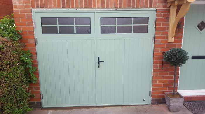 Insulated Side Hinged Garage Doors Listing