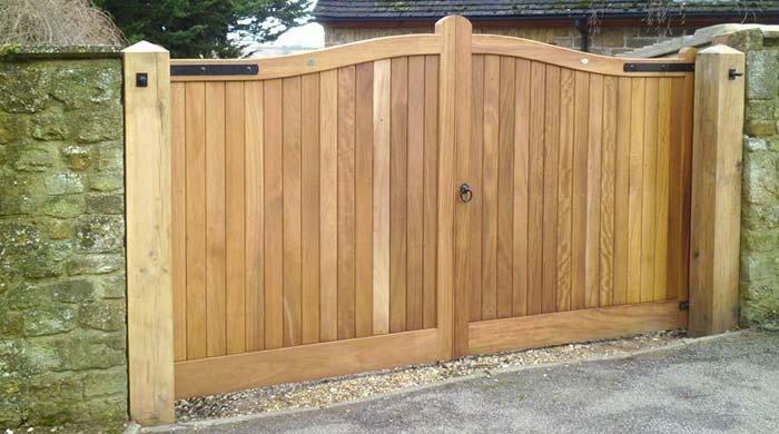 Wooden Entrance Gates Listing
