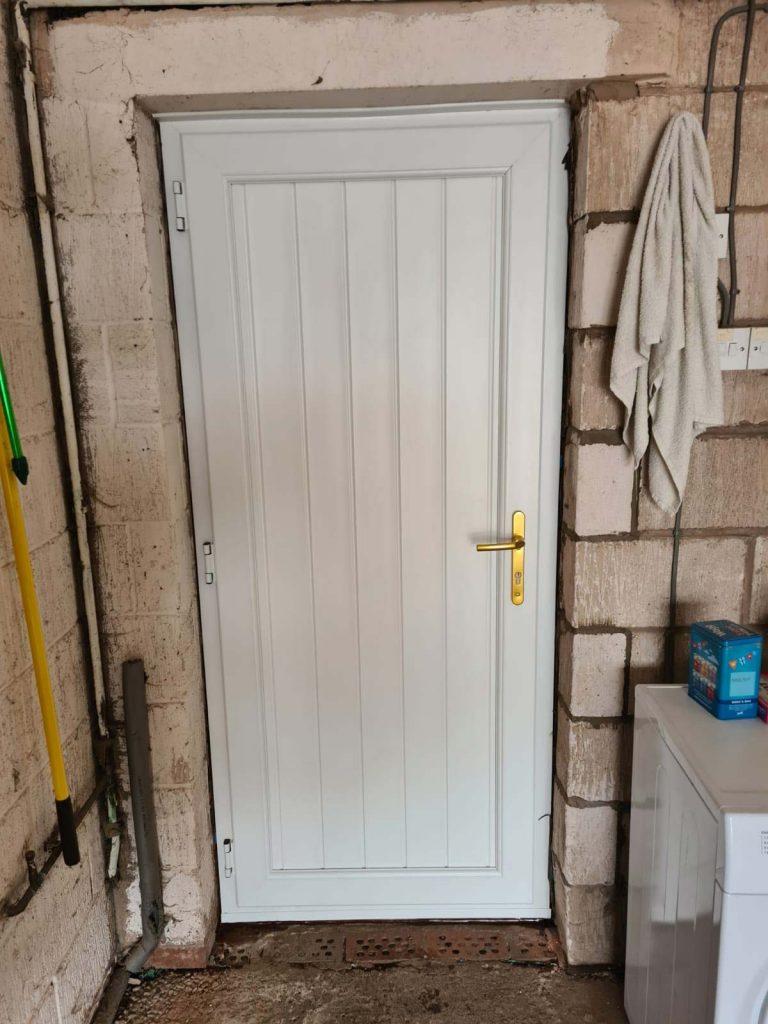 Composite door - After