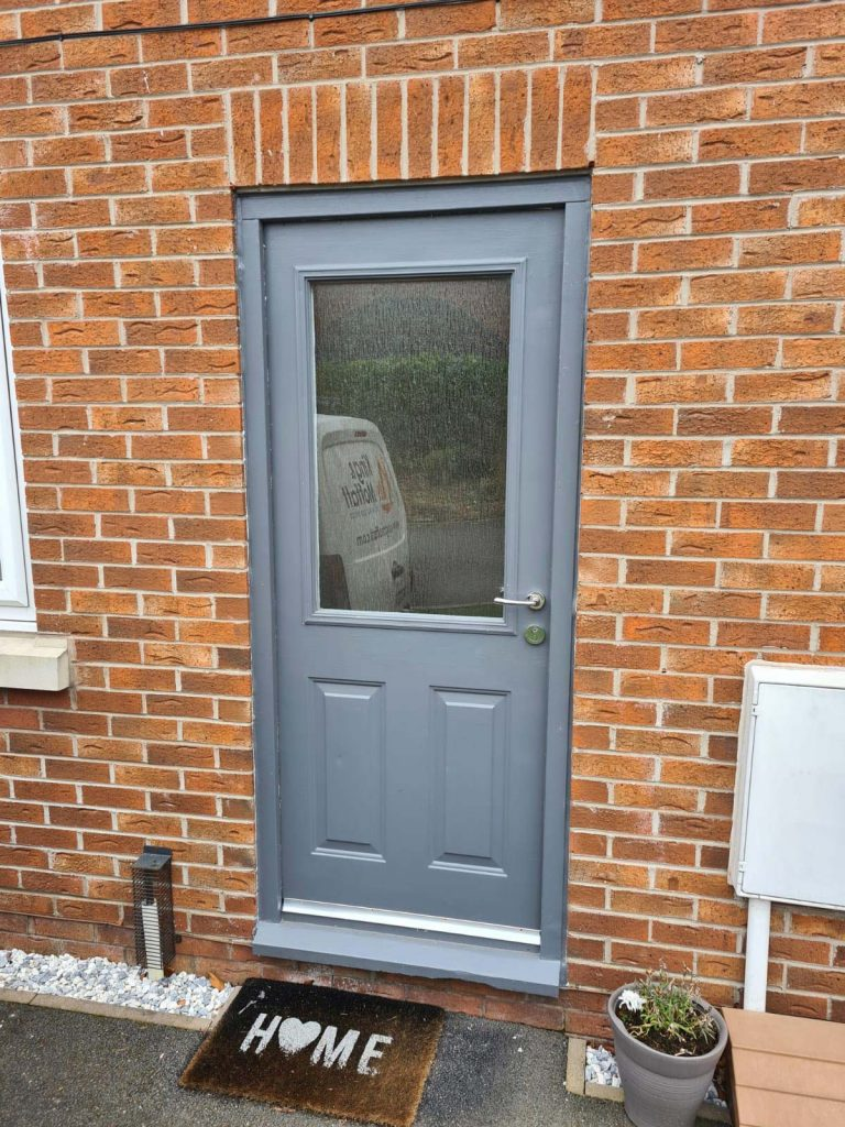 Composite front door - Before