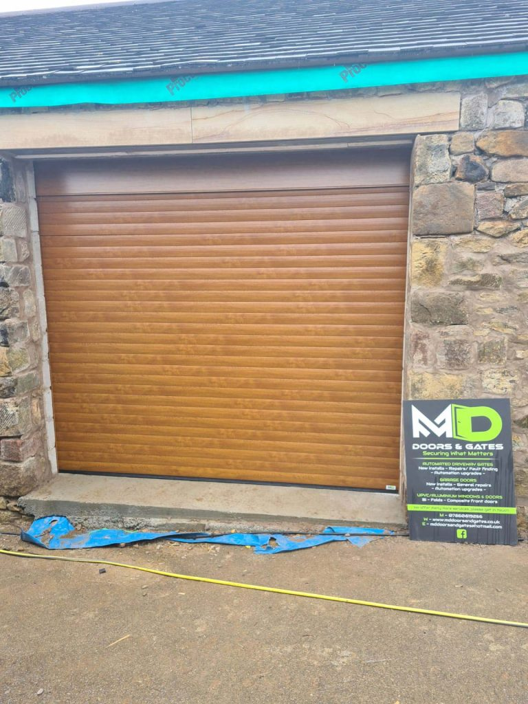Roller Garage Doors - After