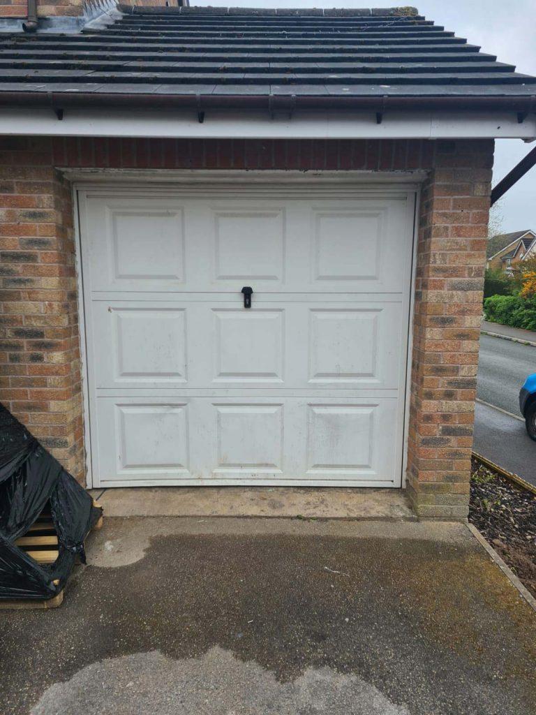 Roller Garage Doors - Before